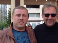 Slavisa Ivanovic and Kevin Costner