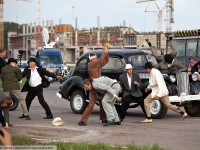 Moscow stunt war 2012, fighting scene