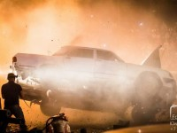 Slavisa Ivoanovic overturn a car on International Festival of Stunt Prometheus 2